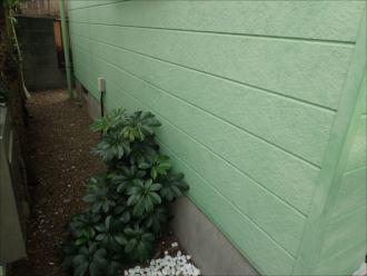 松戸市新松戸 外壁の色褪せ