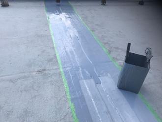 ウレタン2層目塗布