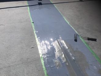 ウレタン3層目塗布