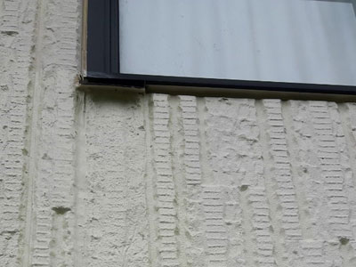 外壁塗装後のALC外壁
