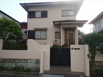 屋根調査から外装の塗装へ、屋根はサーモアイ、外壁はパーフェクトトップで|千葉県富里市