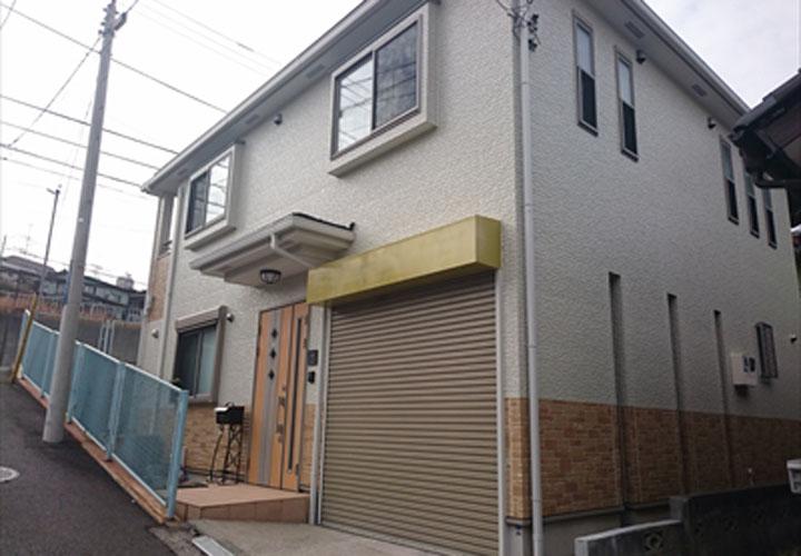 シーリング打ち替え工事と外壁塗装が完了
