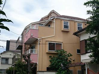屋根外壁塗装前 横