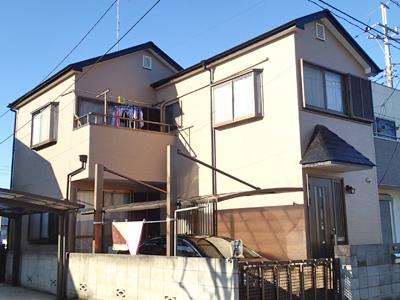 千葉県八千代市|外壁塗装と屋根塗装、防水工事による外装リフォーム