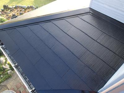 千葉県袖ヶ浦市|棟板金の交換とルーフマイルドSiで屋根塗装