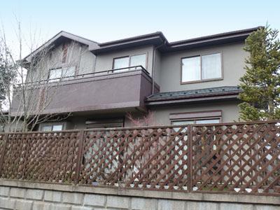 千葉県印旛郡酒々井町 屋根を遮熱、外壁を耐汚染塗装 バルコニー防水