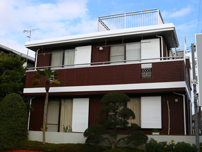 千葉県香取市 外壁塗装と陸屋根防水工事