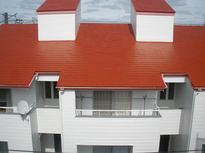 千葉県木更津市 賃貸住宅(アパート)の外壁及び屋根塗装