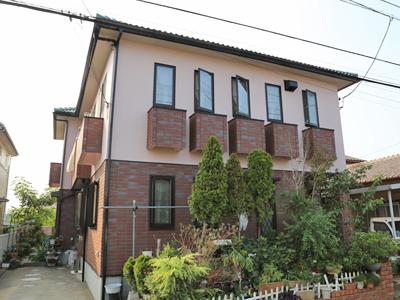 佐倉市|ナノコンポジットで外壁塗装 軒天・ベランダなども合せてメンテナンス