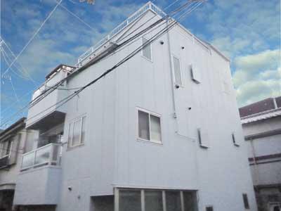 東京都文京区|外壁塗装と屋根塗装に加え陸屋根の防水工事