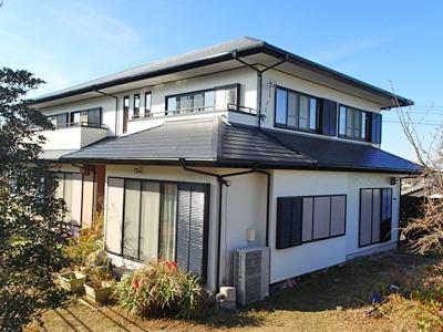 千葉県館山市|外壁塗装と屋根カバー工法で外装を刷新