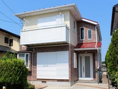 遮熱塗料で屋根塗装 耐汚塗料で外壁塗装 横浜市都筑区