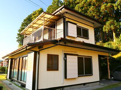 外壁塗装はキャンペーンでお得に塗り替え 棟板金を交換して屋根もメンテナンス|君津市