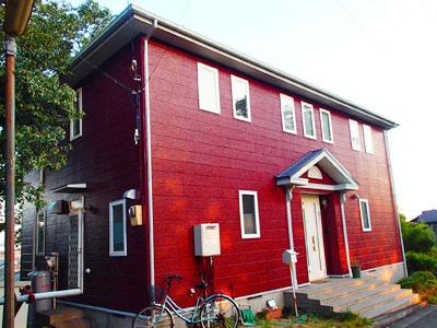 外壁・屋根塗り替え 外壁の塗料は調色をして色を作成|神奈川県横浜市