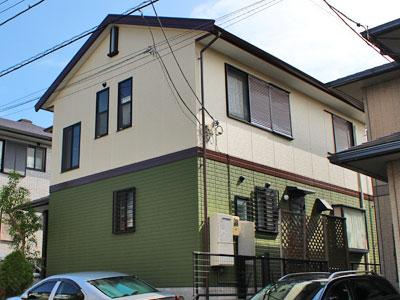 横須賀市|お住まい全体の塗り替え!外壁はナノコンポジットW、屋根はヤネMシリコン