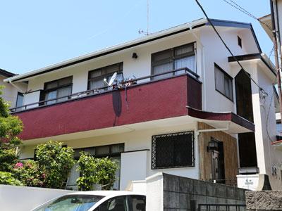 横浜市港南区の屋根塗装 外壁塗装 バルコニー防水 篠田様