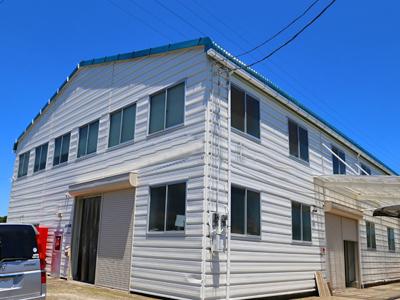 千葉県君津市 外壁塗装と屋根カバー工法で工場の改修工事
