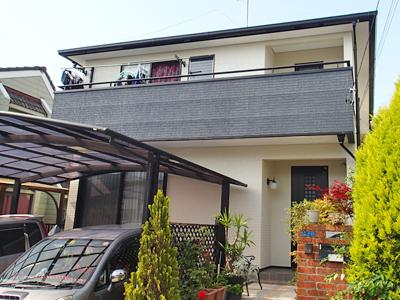 千葉県君津市 カラーシミュレーションを使った色選びで外壁塗装と屋根塗装