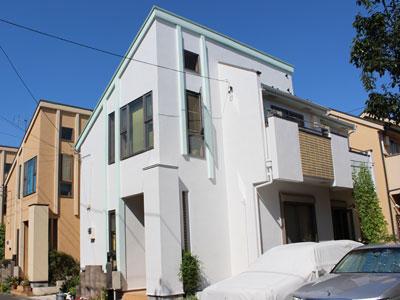 世田谷区|外壁をイメージチェンジ!シリコン塗料で屋根と外壁の塗り替え