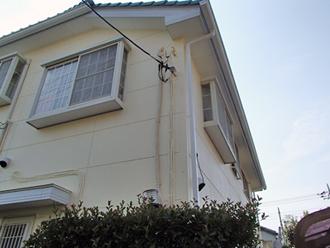 狛江市 カラーシミュレーションを使用しての外壁塗装 軒天・雨樋塗装