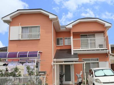 千葉県君津市 外壁塗装でイメージチェンジ 屋根は遮熱塗料で暑さ軽減