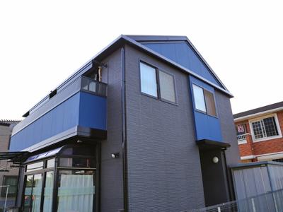 富津市|ツートンカラーでお洒落に外壁塗装 屋根は遮熱塗料で暑さ対策もバッチリ!