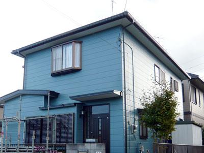 印旛郡酒々井町|【バイオ洗浄】外壁塗装と屋根カバー工事