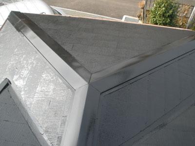棟板金飛散 屋根は一部DIYで施工経験あり|千葉県木更津市