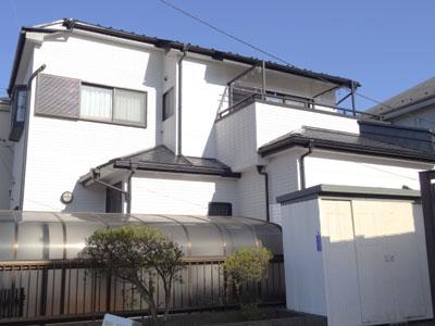 富士見市の外壁塗装・屋根塗装|2液性セラタイトSi・ヤネフレッシュSi