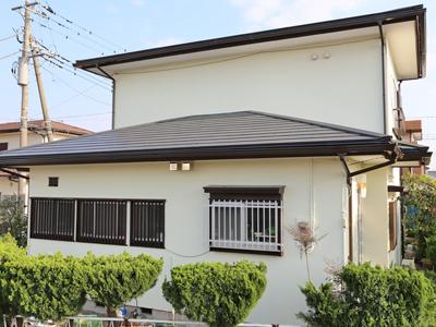千葉県木更津市 外壁塗装と屋根カバー工法 更に浴室リフォームでリフレッシュ