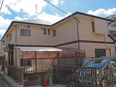 横浜市神奈川区|遮熱塗料で屋根、シリコン塗料で外壁塗装、お住まい全体をメンテナンス