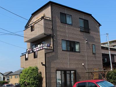 外壁をクリヤー塗装、屋根は遮熱塗料で省エネ対策|神奈川県横浜市青葉区
