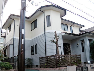 神奈川県逗子市の屋根リフォーム 外壁塗装 屋根塗装(サーモアイ遮熱塗料)