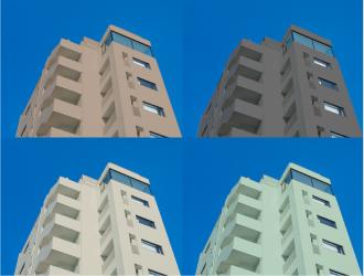 マンションのカラーシミュレーション例