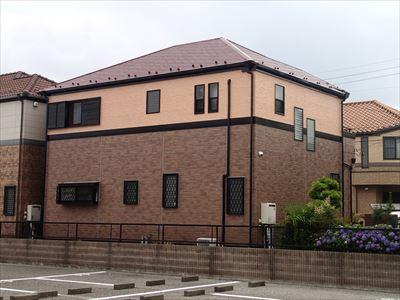 フッ素クリア塗装と遮熱屋根塗装で新築以上の輝き|稲毛区