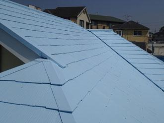 水色の屋根 クールベビーブルー