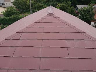 築20年になる邸宅のスレート屋根