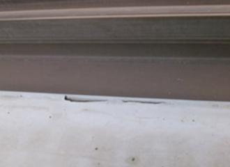 ベランダのシート防水の劣化