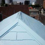 屋根塗装 クールベビーブルー