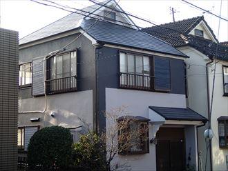 市川市のK様邸、イメージ通りの色分けと塗り分けで完成しました