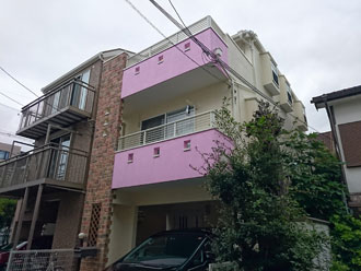 屋根外壁塗装完工 全体