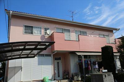 市原市でセメント瓦とサイディングの住宅塗装工事