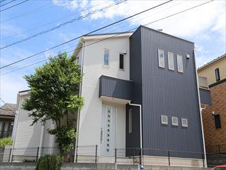 習志野市で築後初めての塗り替え、ALC外壁にパーフェクトトップ、屋根はサーモアイSiで仕上げました