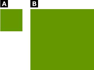 同じ色でも面積によって色の見え方が違う
