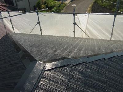 横浜市南区の屋根リフォーム 屋根塗装工事 水系ナノシリコン