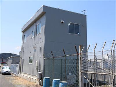 江東区新木場で外壁塗装工事