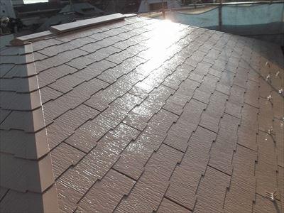 目黒区中町の屋根塗装工事完了