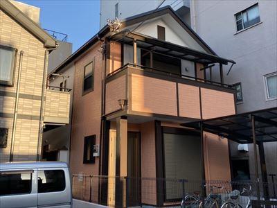 墨田区本所で外壁塗装工事完了