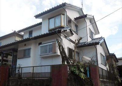 セメント瓦と軒天の劣化がきっかけで屋根外壁塗装工事を行った木更津市大久保のM様邸