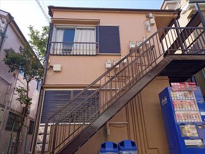 豊島区北大塚のアパート塗装